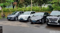 Setahun Janji Kemenhub Pakai 100 Mobil Listrik, Sudah Terealisasi?