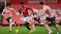 Liga Inggris: Sheffield Ungguli MU 1-0 di Babak Pertama