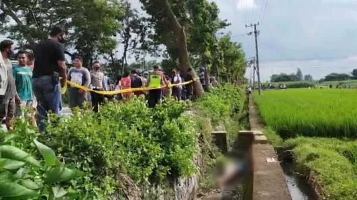 penemuan mayat di kediri