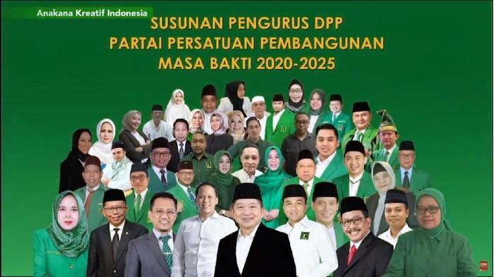 Pengurus Baru DPP PPP Periode 2020-2025