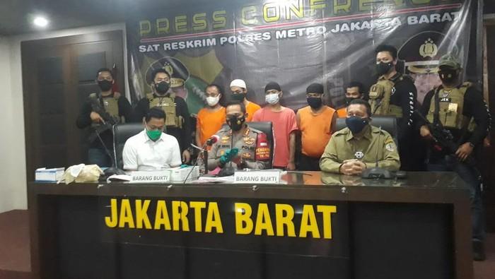 Polisi Tangkap Begal Pesepeda di Latumenten, Jakarta Barat