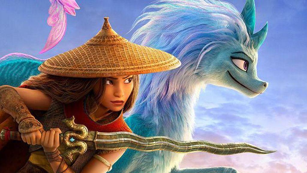Awkwafina Bicara soal Wajah Mirip Naga Sisu di Raya and the Last Dragon