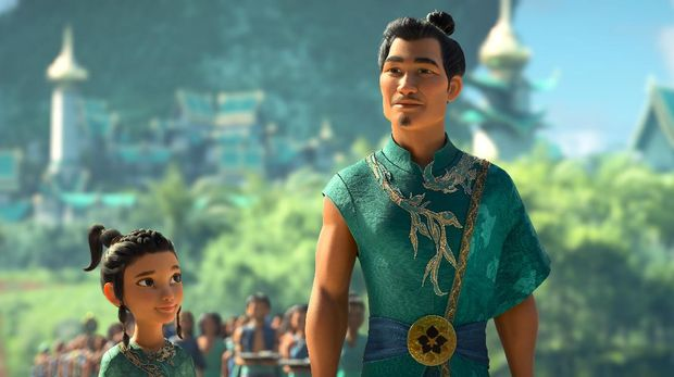 Raya seeks the help of the legendary dragon, Sisu. Seeing what's become of Kumandra, Sisu commits to helping Raya fulfill her mission in reuniting the lands. Featuring Kelly Marie Tran as the voice of Raya and Awkwafina as the voice of Sisu, Walt Disney Animation Studios'