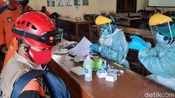 Relawan Gunung Merapi di Sleman Dites Antigen, 1 Orang Positif