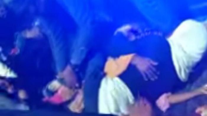 Screenshot viral pria-wanita pelukan hingga gencet di Sumut (dok. Istimewa)