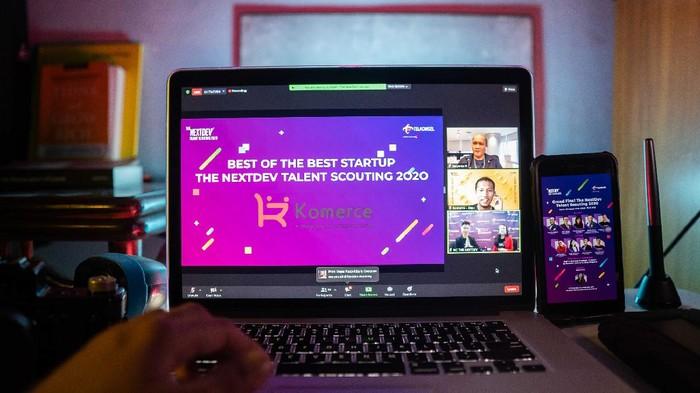 Telkomsel mengumumkan startup berdampak sosial terbaik di ajang The NextDev Talent Scouting 2020.