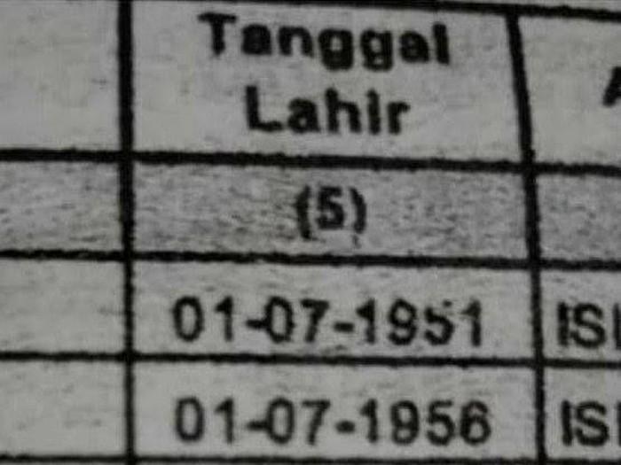 Viral keluarga yang memiliki tanggal dan bulan lahiran yang sama
