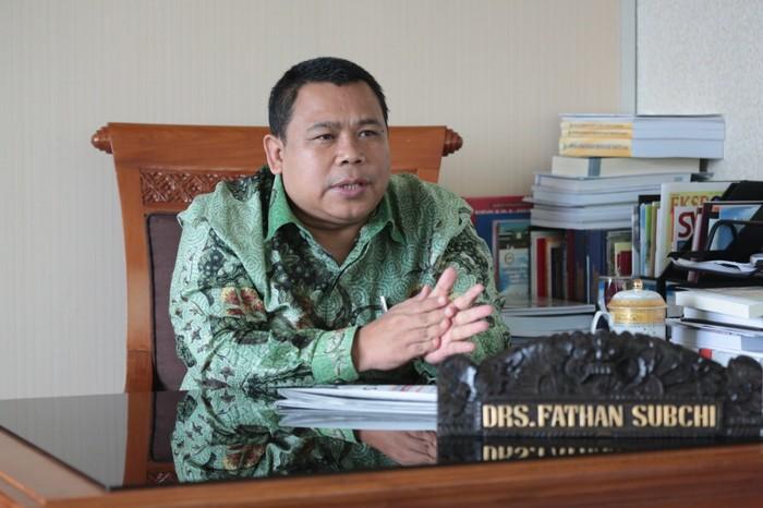 Wakil Ketua Komisi XI DPR Fathan Subchi