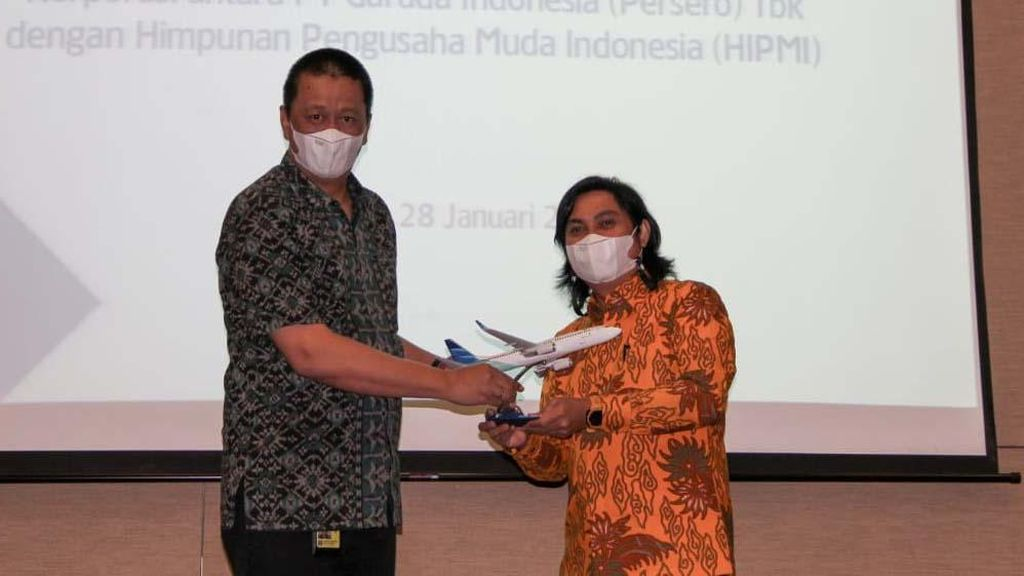 Garuda Indonesia Layani Penerbangan Anggota HIPMI