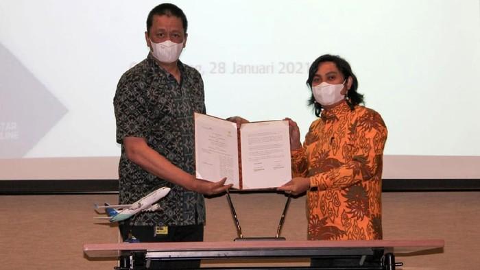 Garuda Indonesia menjalin kerja sama dengan HIPMI. Melalui kerja sama ini, Garuda Indonesia menjadi maskapai utama bagi 50 ribu anggota HIPMI.