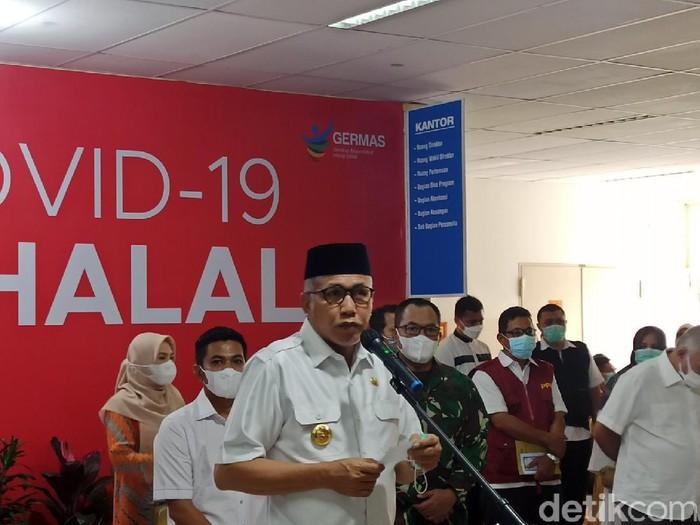 Gubernur Aceh Nova Iriansyah (Agus Setyadi/detikcom)