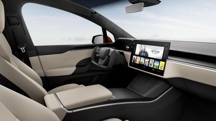 Interior Terbaru Tesla Model S