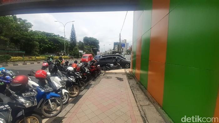 JPO Wali Kota Depok, 29 Januari 2021. (Afzal Nur Iman/detikcom)
