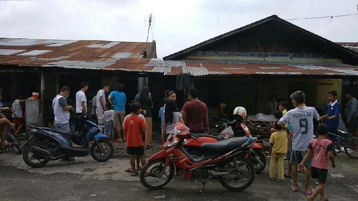 Lokasi penemuan karung isi kucing dikuliti di Medan