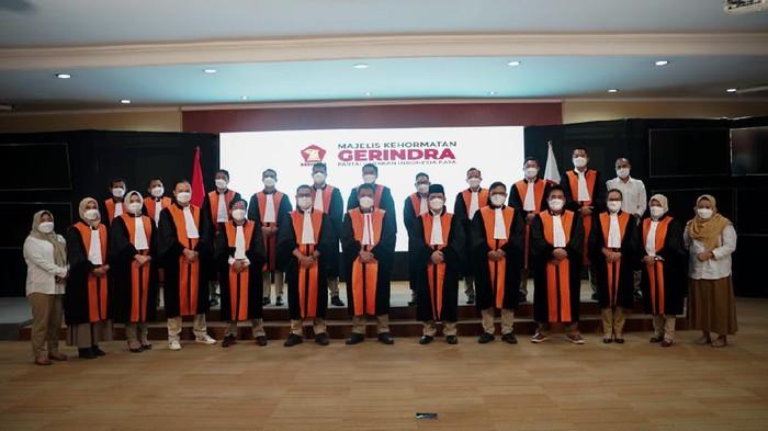 Gerindra memperkenalkan pengurus Mahkamah Partai.