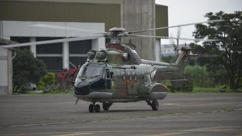 Mantul! Helikopter Super Puma Made in Bandung Siap Dipakai TNI AU