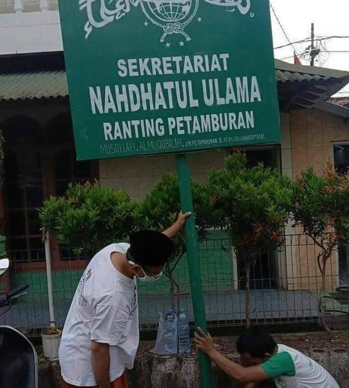 Plang NU Ranting Petamburan