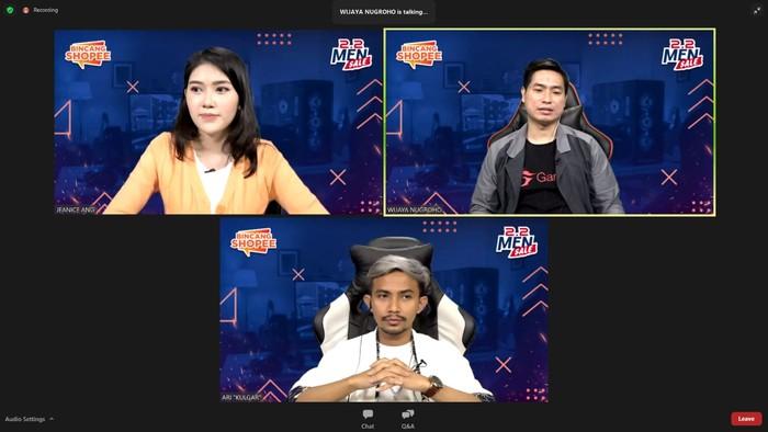 Screenshot Bincang Shopee