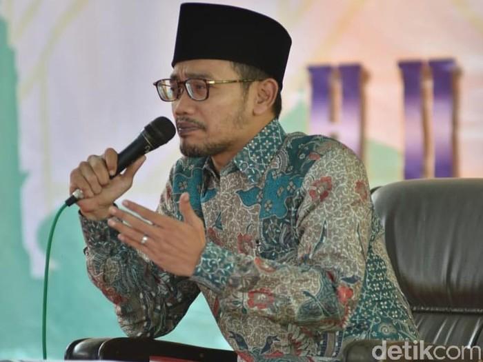 Wakil Ketua Tanfidziyah PWNU Jatim KH Abdusalam Sokhib