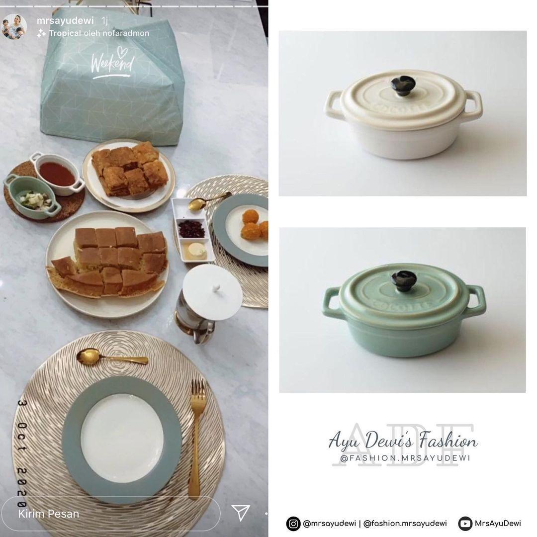 Ayu Dewi Koleksi Alat Dapur Cantik Warna Pastel, Segini Harganya
