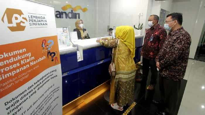 LPS memastikan proses pembayaran klaim penjaminan simpanan nasabah di BPR Brata Nusantara berjalan dengan baik.