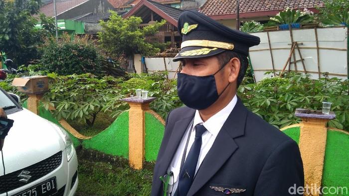 Rekan sesama pilot Kapten Afwan (Dyas/detikcom)