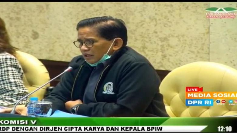 Anggota Komisi V DPR Fraksi PAN, A. Bakri HM.