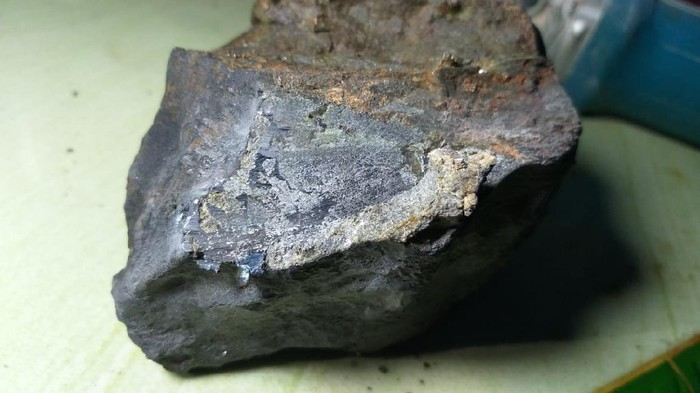 Foto meteorit (Tim Peneliti Itera)