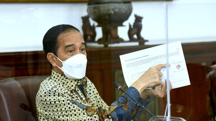 Evaluasi Jokowi : PPKM Tidak Efektif, Ekonomi Turun, Covid?