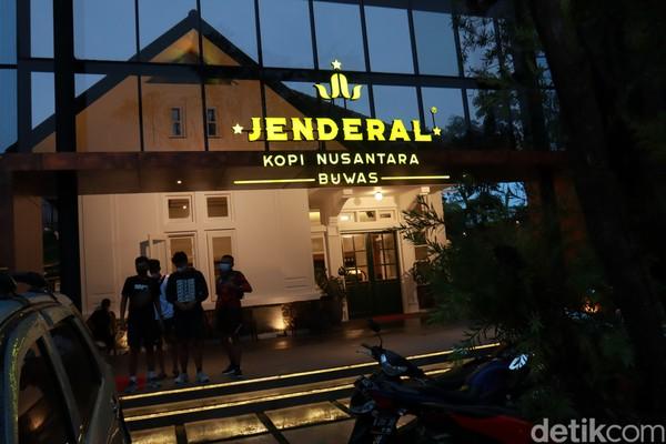 InilahJendral Kopi Nusantara Buwas II Bandung.(Wisma Putera/detikcom)