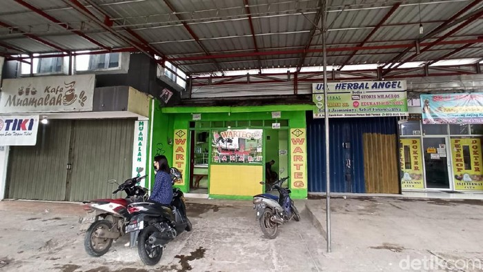 Lokasi Pasar Muamalah/Trio Hamdani - detikcom