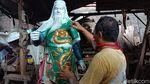 Pemahat Patung di Jepara Bertahan di Masa Pandemi Corona