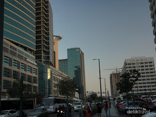 Begini Potret Abu Dhabi di Masa Pandemi COVID-19