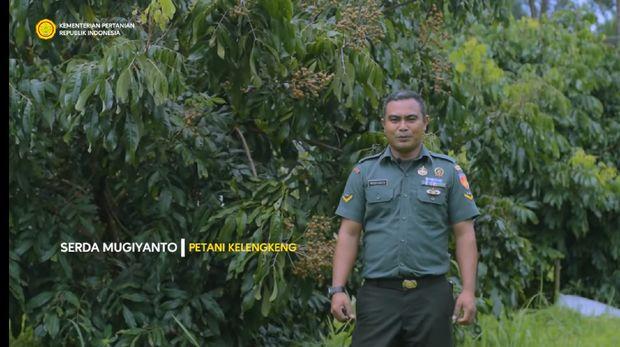 Anggota TNI Ini Sukses Jadi Petani Kelengkeng Setelah Satu Kaki Terkena Ranjau
