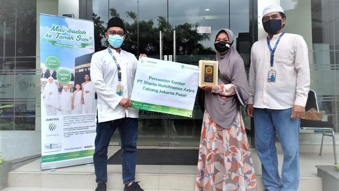 Multifinance Astra meresmikan pembukaan 5 Kantor Cabang PT Sharia Multifinance Astra di Jakarta, Senin (1/2/2021).