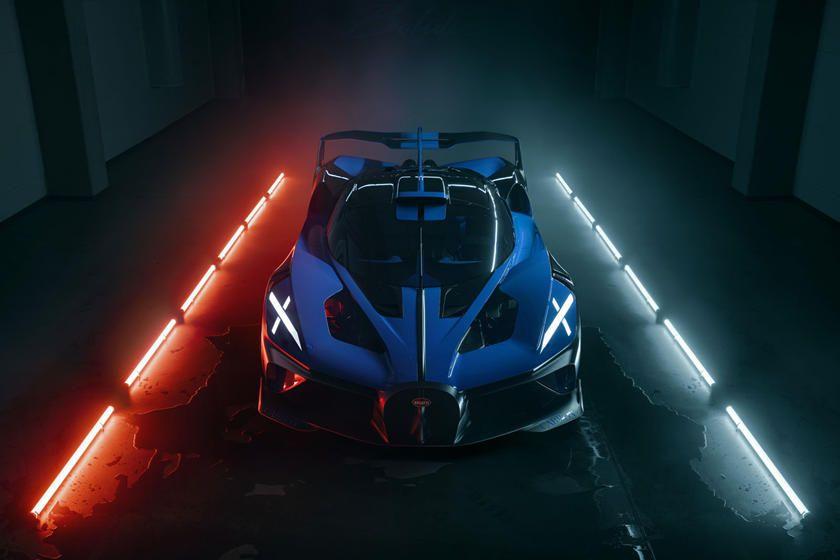Bugatti Bolide jadi hypercar tercantik tahun ini.