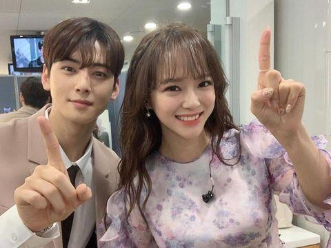 Cha Eun Woo dan Kim Se Jeong