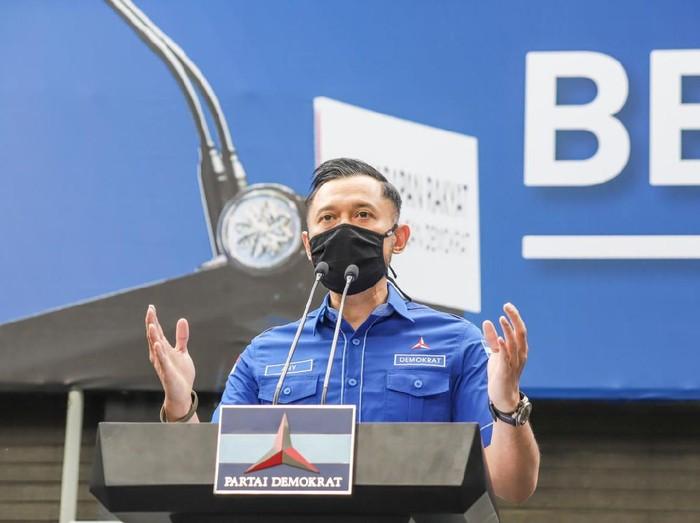 Jumpa pers Agus Harimurti Yudhoyono (AHY) / Dok. Yeriko
