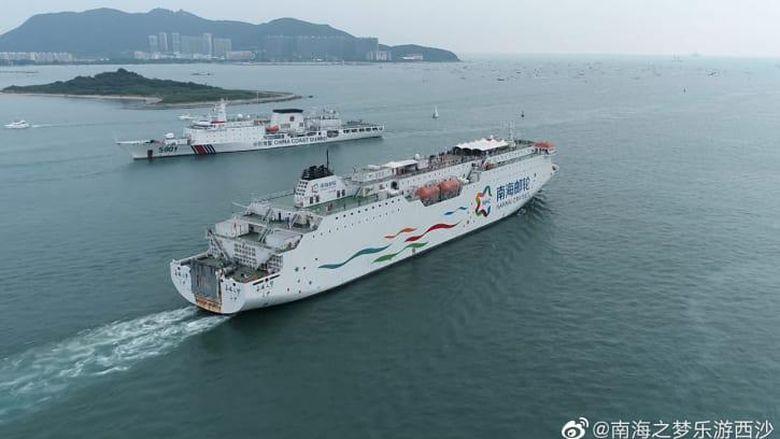 Kapal pesiar ke Kepulauan Paracel