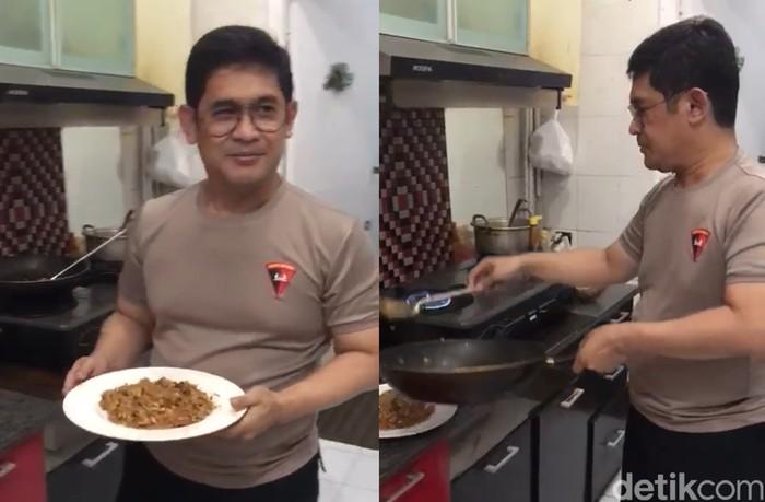 Kapolda Sulawesi Selatan Ternyata Jago Bikin Nasi Goreng