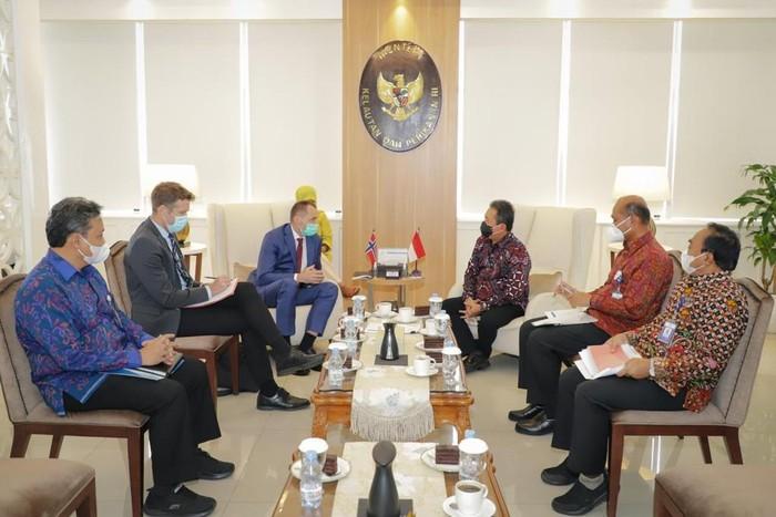 Kerja sama Indonesia dengan Norwegia soal illegal fishing