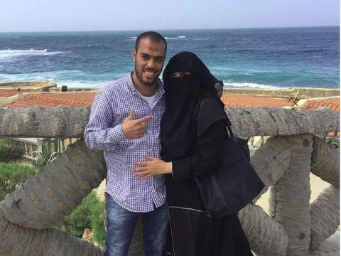 Soraya Abdullah bersama sang suami