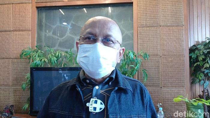 Eks Senior PD Darmizal (Sachril Agustin Berutu/detikcom).