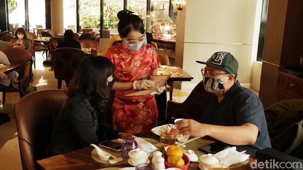 Menjelang Tahun Baru Imlek 2572 yang jatuh pada 12 Februari 2021, traveler bisa menikmati aneka hidangan kuliner khas negeri Tiongkok di he Trans Luxury Hotel Bandung. (Siti Fatimah/detikTravel)