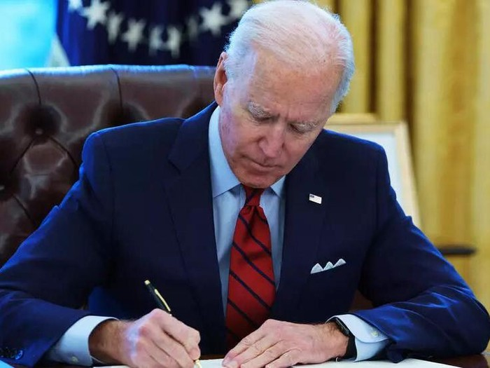 President Joe Biden will sign a series of executive orders aimed at reforming the US immigration process, signaling a return to a more inclusive policy MANDEL NGAN AFP/File