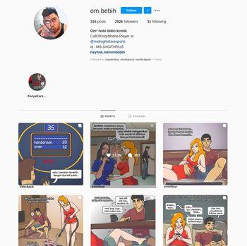 Komik Instagram @Om.Bebih