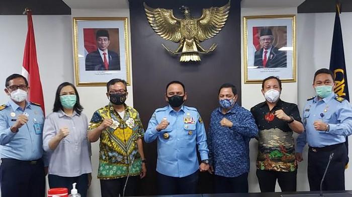 Pertemuan PWI Pusat dan Kemenkumham
