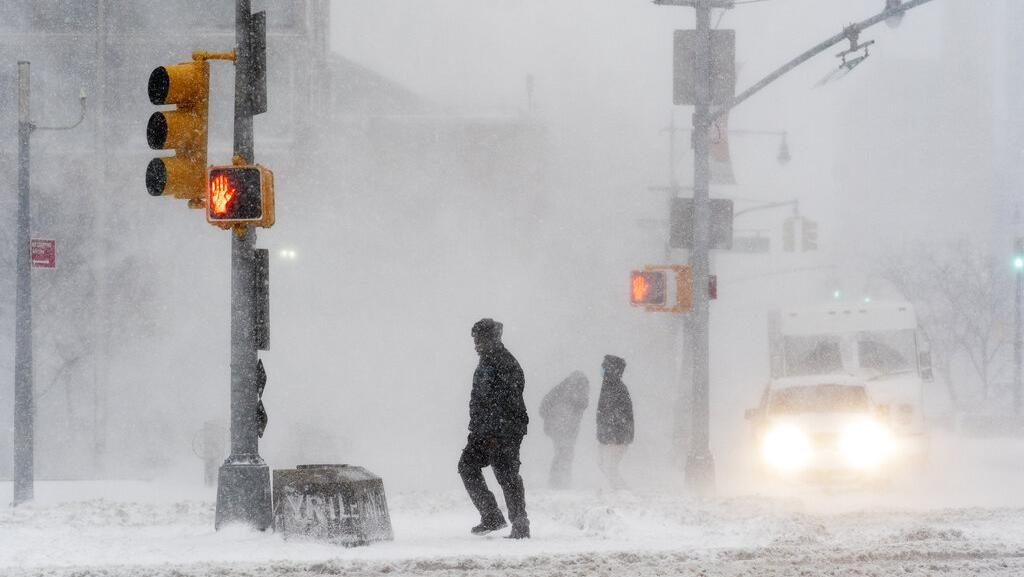 Kroasia dan Slovenia Dilanda Badai Salju