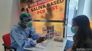 Test Corona Pakai Air Liur Pertama Diterapkan di Rumah Sakit Surabaya