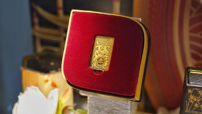 PT Aneka Tambang (Antam) resmi merilis produk emas dengan tema tahun kerbau logam sesuai penanggalan China di tahun 2572. Penasaran?